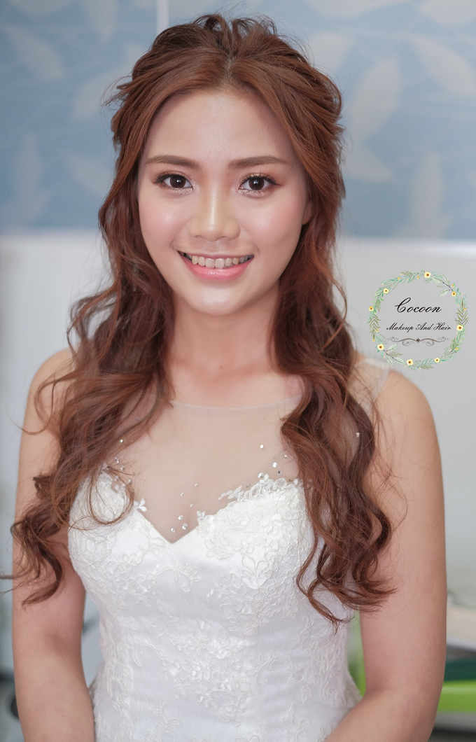 Bride Stephanie  by Cocoon makeup and hair - 006