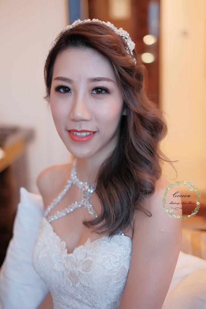 Bride Hazel by Cocoon makeup and hair - 002