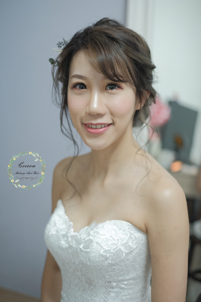 Bride Hazel by Cocoon makeup and hair - 007