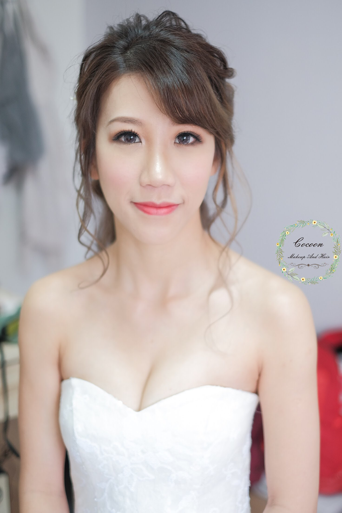 Bride Hazel by Cocoon makeup and hair - 008