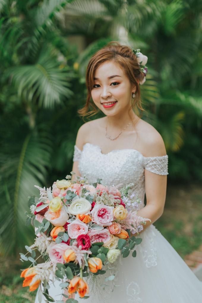 Odelia wedding day by Cocoon makeup and hair - 028