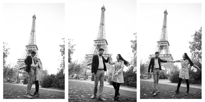 Parisian Encounter by Jennifer Gan Photo - 008