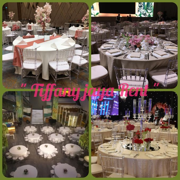Tiffany Clear Transparant by TIFFANY JAYA RENT-KURSI TIFFANY - 004