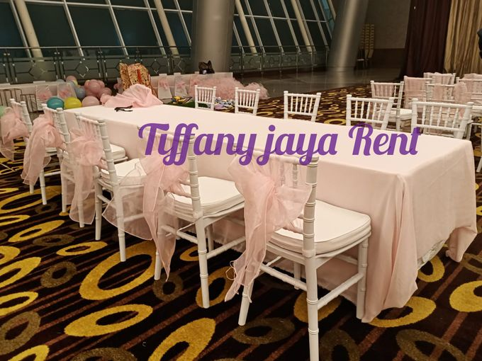 Kursi Tiffany Anak-anak Putih by TIFFANY JAYA RENT-KURSI TIFFANY - 005
