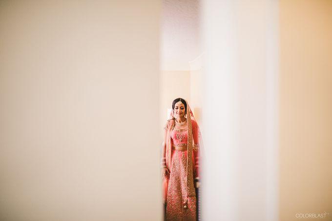 Destination Wedding- Big fat Indian by ColorBlast Weddings - 022