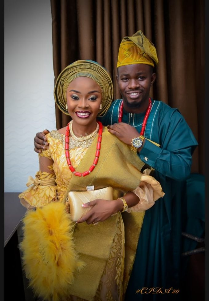 Comfort Reuben & Damilare Adetunji Nigerian wedding Highlights by Rayhouse Studios - 001