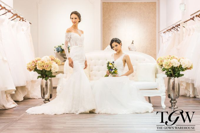 COLLECTION SHOOT by The Gown Warehouse   Bridestory.com