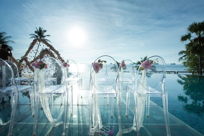 Over water wedding at Conrad Koh Samui by BLISS Events & Weddings Thailand - 004