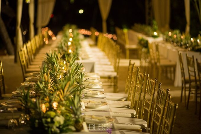 Welcome dinner on the beach tropical theme by BLISS Events & Weddings Thailand - 002