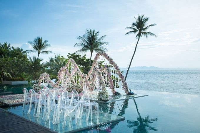 Over water wedding at Conrad Koh Samui by BLISS Events & Weddings Thailand - 003
