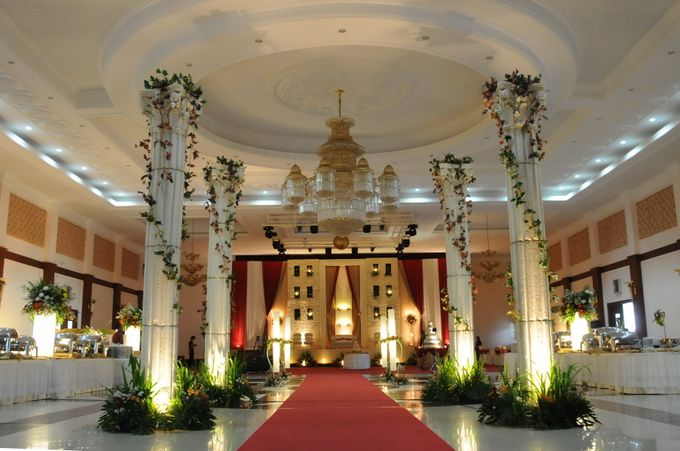 Wedding Decoration by BRAJA MUSTIKA Hotel & Convention Centre - 003