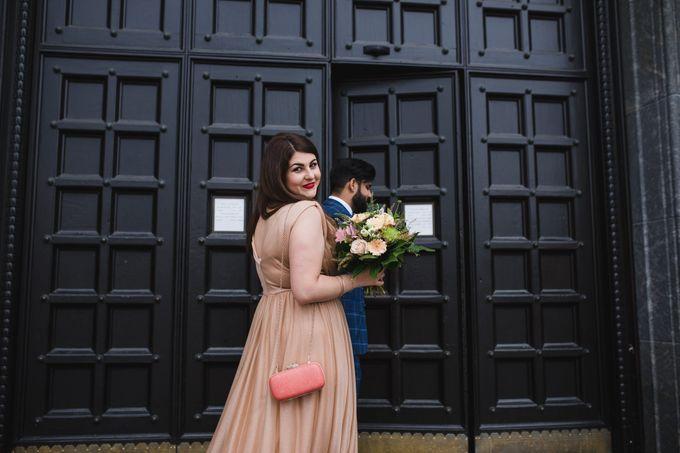 Copenhagen City Hall Wedding Elopement during COVID-19 by Ieva Vi Photo by Ieva Vi Photography - 005