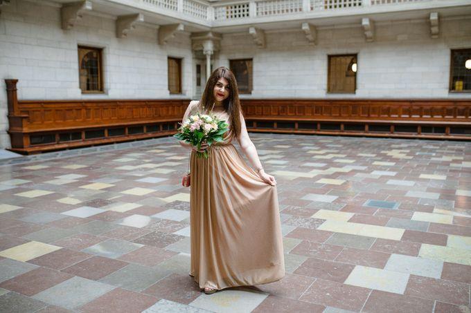 Copenhagen City Hall Wedding Elopement during COVID-19 by Ieva Vi Photo by Ieva Vi Photography - 006