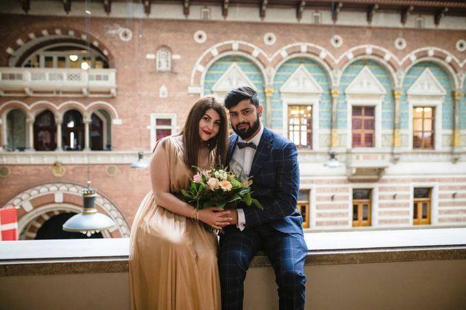 Copenhagen City Hall Wedding Elopement during COVID-19 by Ieva Vi Photo by Ieva Vi Photography - 013