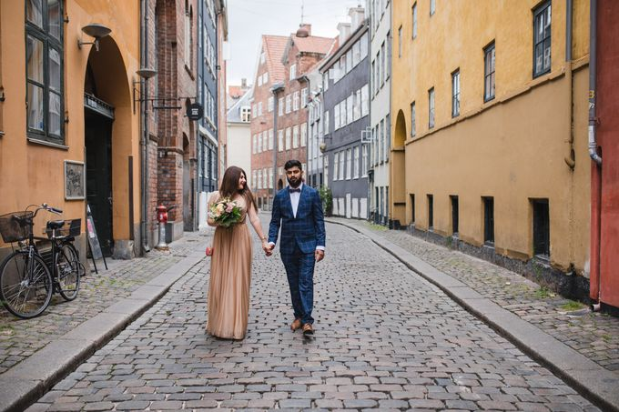 Copenhagen City Hall Wedding Elopement during COVID-19 by Ieva Vi Photo by Ieva Vi Photography - 014