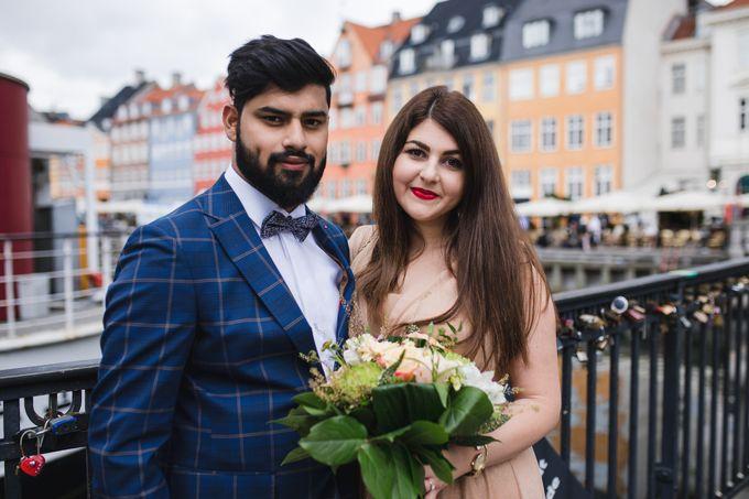 Copenhagen City Hall Wedding Elopement during COVID-19 by Ieva Vi Photo by Ieva Vi Photography - 015
