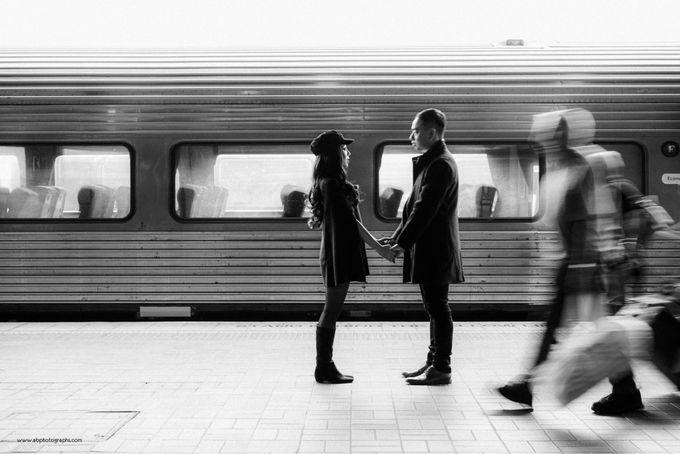 ALEX & LIA - MELBOURNE by AB Photographs - 032