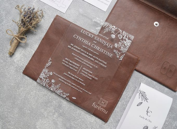 NEW NORMAL WEDDING Acrylic Monochrome Package (min. order 30 pcs only) by Furēmu - 003