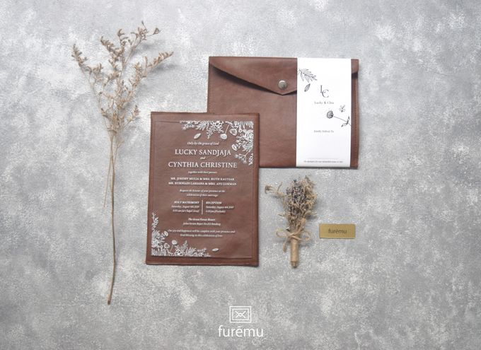NEW NORMAL WEDDING Acrylic Monochrome Package (min. order 30 pcs only) by Furēmu - 001