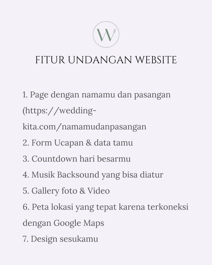 Undangan Digital Website Custom 6 by Wedding kita invitation - 003