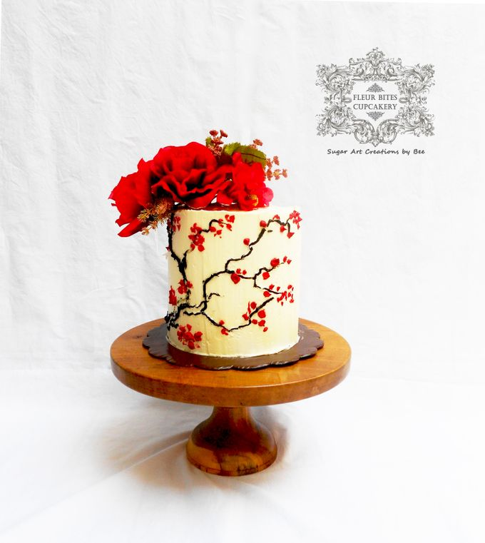 Engagements & Wedding Cakes by Fleur Bites Cupcakery - 034