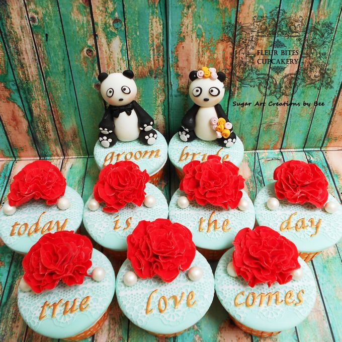 Engagements & Wedding Cakes by Fleur Bites Cupcakery - 024