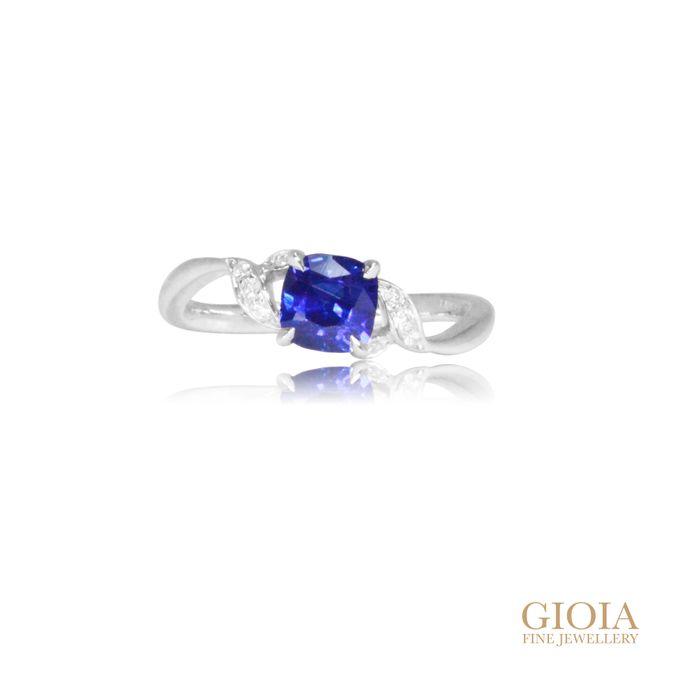 Cornflower Blue Sapphire by GIOIA FINE JEWELLERY - 001