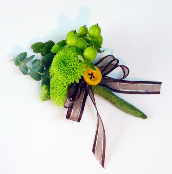 Boutonnieres & Corsages by The Olive 3 (S) Pte Ltd - 005