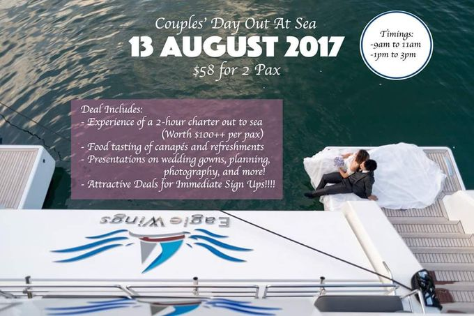 Couple Day Out At Sea by Eagle Wings Yacht Charters Pte Ltd - 001