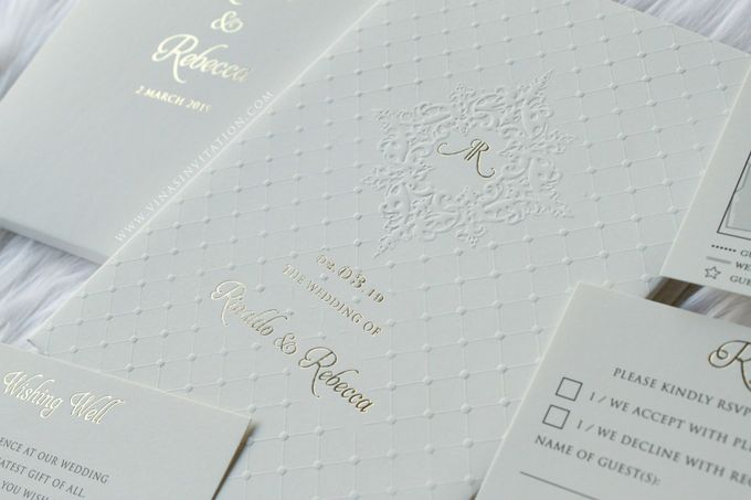 Rinaldo & Rebecca by Vinas Invitation - 001