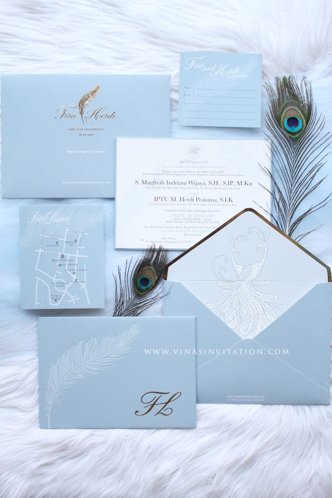 Fira & Herdi by Vinas Invitation - 001