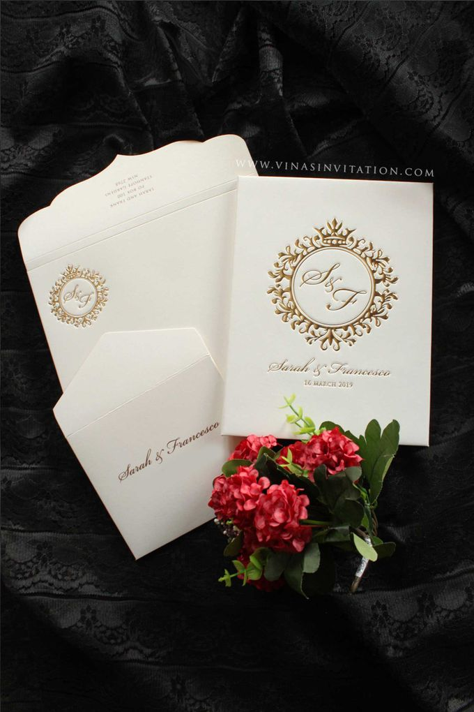 Sarah & Fransesco by Vinas Invitation - 002