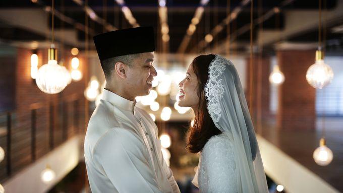 Wedding Journey of  Shazeya & Abu Dani by Drawn - 001