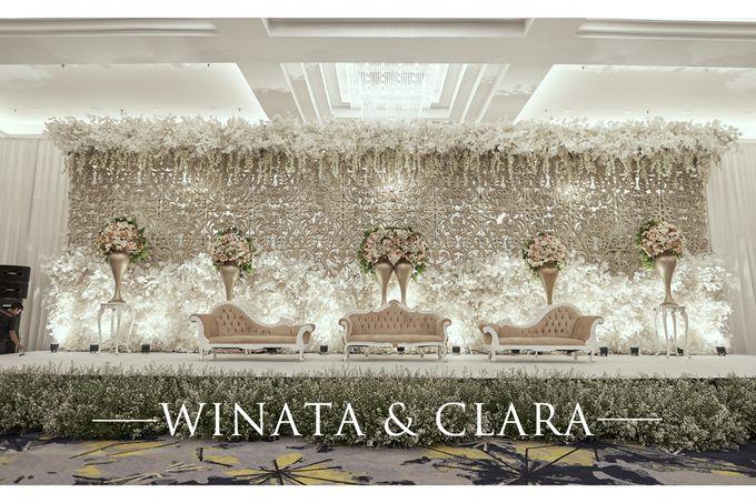 The Wedding of Clara & Winata by Skenoo Hall Emporium Pluit by IKK Wedding - 005