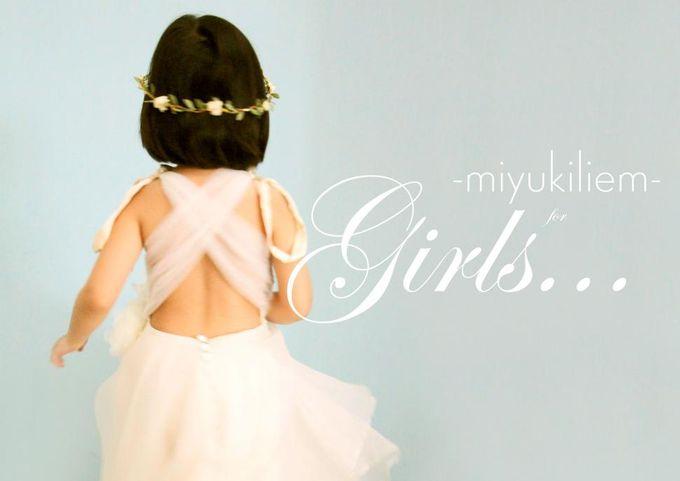 Flower Girl by Miyuki Liem Bridals - 007