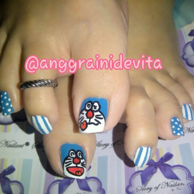 Painting Nails by Story of Nailart - 002