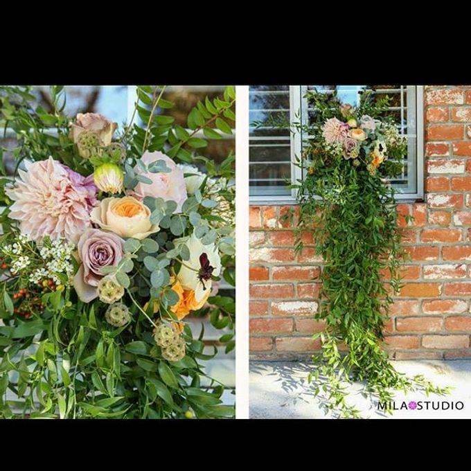 Fall 2015 Wedding Tanya & Moses by Esmae Event Floral Design - 001