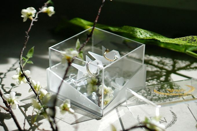 Crane Bird Ringbox by NINbox.box - 006