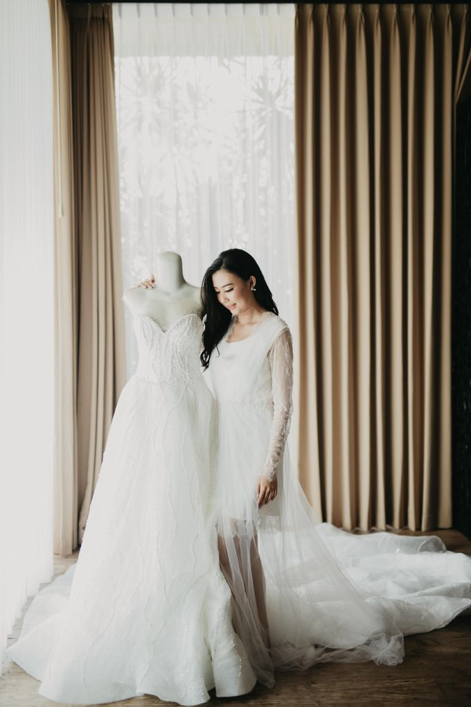 Wedding of Hermawan Ivy by Megan Anastasia Makeup Artist - 008