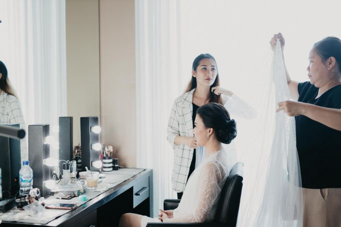 Wedding of Hermawan Ivy by Megan Anastasia Makeup Artist - 016