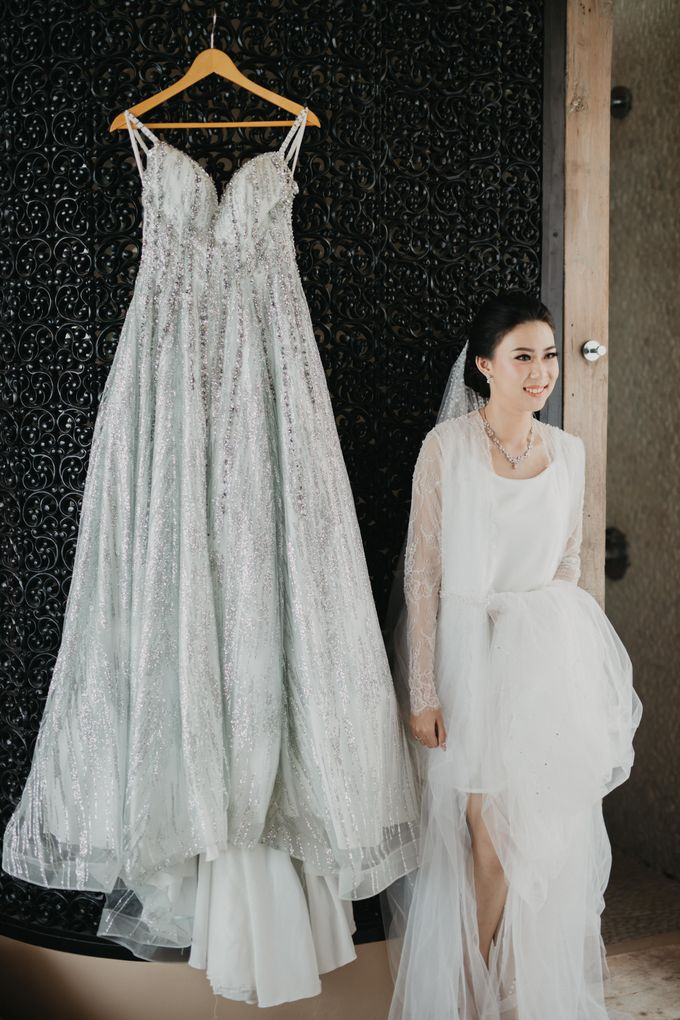 Wedding of Hermawan Ivy by Megan Anastasia Makeup Artist - 023