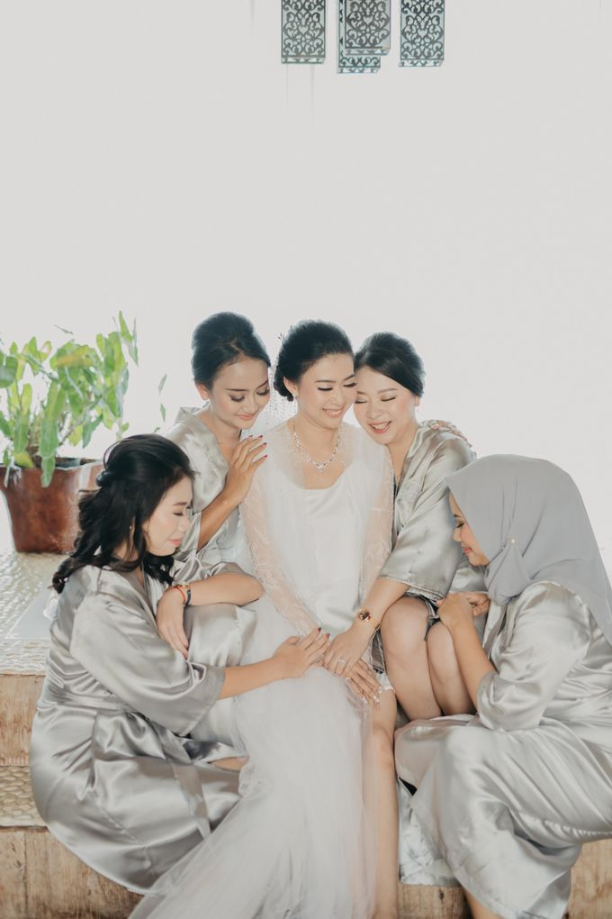 Wedding of Hermawan Ivy by Megan Anastasia Makeup Artist - 027