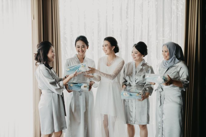 Wedding of Hermawan Ivy by Megan Anastasia Makeup Artist - 030