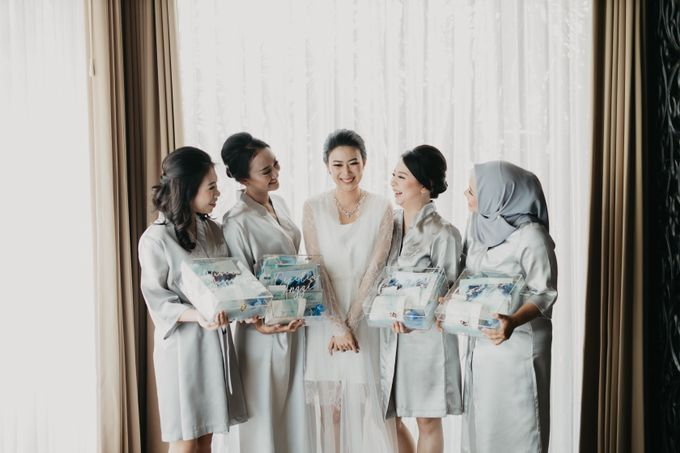 Wedding of Hermawan Ivy by Megan Anastasia Makeup Artist - 031