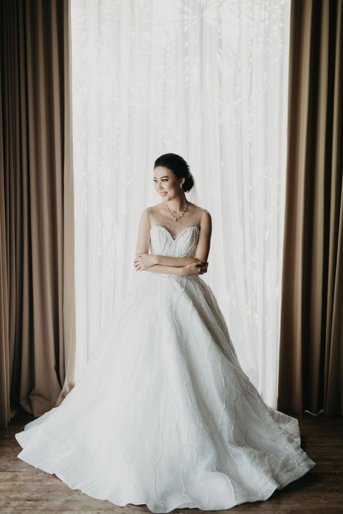 Wedding of Hermawan Ivy by Megan Anastasia Makeup Artist - 035