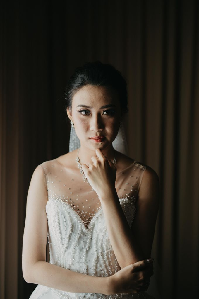 Wedding of Hermawan Ivy by Megan Anastasia Makeup Artist - 037