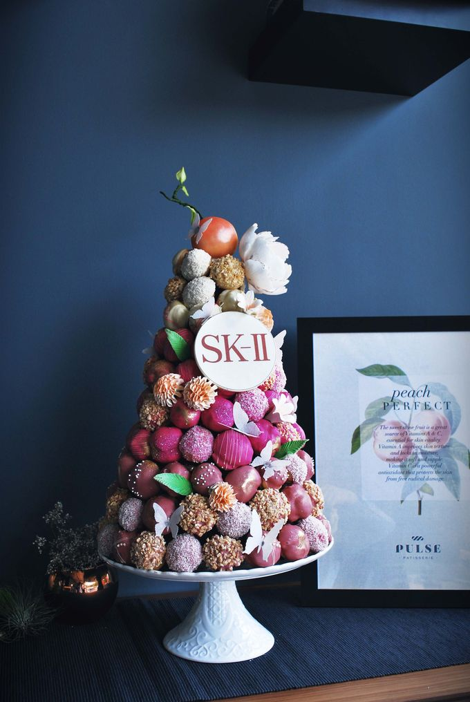 Wedding CROQUEMBOUCHE -Cream Puff Tower by Pulse Patisserie - 006