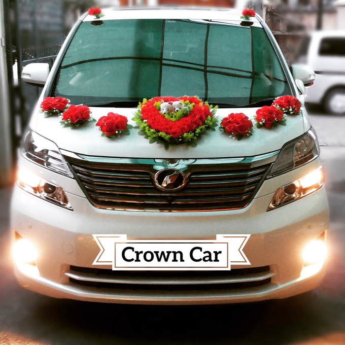 Wedding car rental by Crown Car Rental - 001