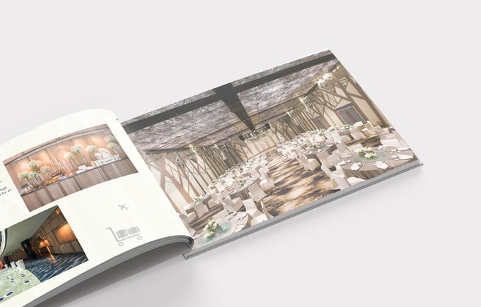 Crowne Plaza Wedding Brochure by mylin design & co. - 002