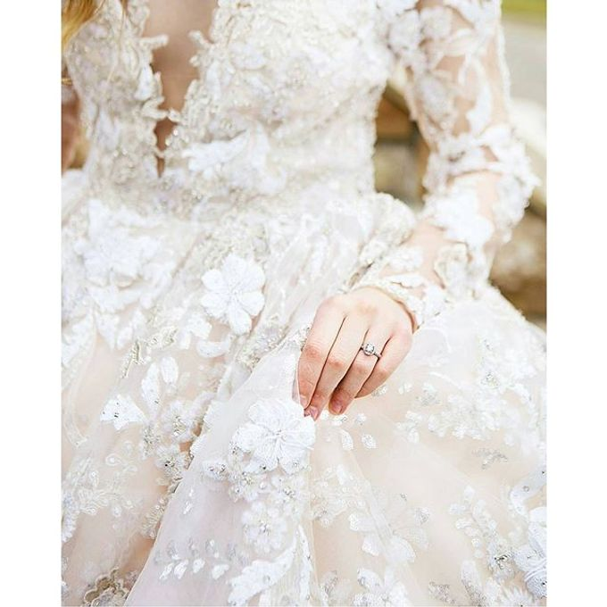 New Castle Wedding by MeaMarie Bridal Atelier - 001